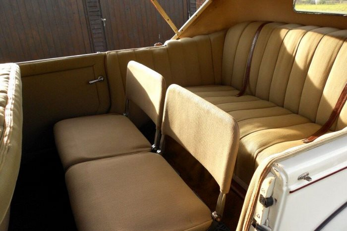 1928 Buick Monarch Phaeton Interior