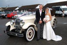 1928 Buick Monarch Pheaton Essex Wedding Car Ye Olde Plough House
