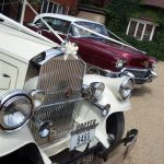 1930 Pierce-Arrow And 1956 Cadillac Sedan Essex Wedding Cars Derougemont Manor