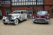 1930 Pierce-Arrow And 1956 Cadillac Sedan Essex Wedding Cars Derougemont Manor