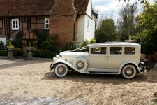 1930 Pierce-Arrow Essex Wedding Car Newlands Hall