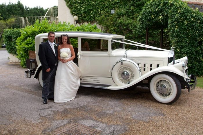 1930 Pierce-Arrow Essex Wedding Car Stifford Moat House