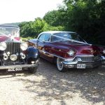 1934 Rolls Royce And 1956 Cadillac Sedan De Ville Essex Wedding Cars