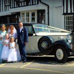 1938 Rolls-Royce wraith Essex Wedding Car Mary Green Manor