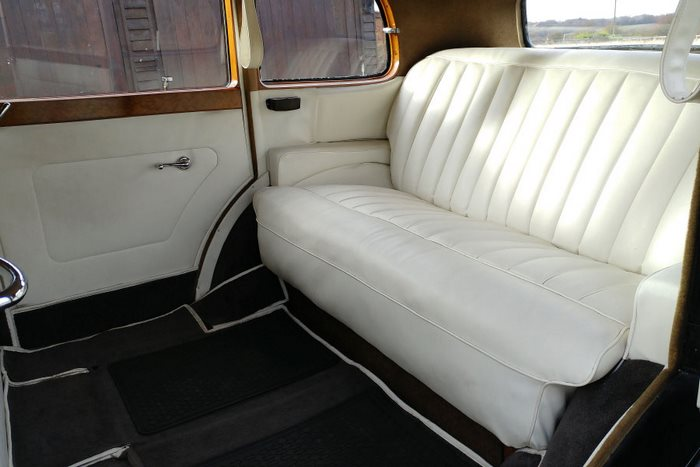 1938 Rolls Royce Wraith Limousine Interior