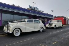 1939 And 1954 Rolls-Royce Wraith Essex Wedding Car Talk Nightclub