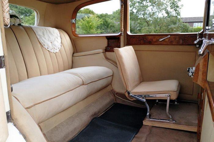 1939 Rolls Royce Wraith A Interior