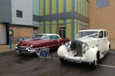 1939 Rolls Royce Wraith And 1956 Cadillac Sedan-De-Ville Essex Wedding Cars Unit