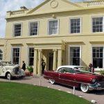 1939 rolls Royce Wraith And 1956 Cadillac Sedan The Lawn