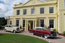 1939 rolls Royce Wraith And 1956 Cadillac Sedan The Lawn