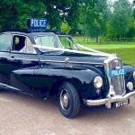 1951 Wolseley 680 Police Car Essex Wedding Car