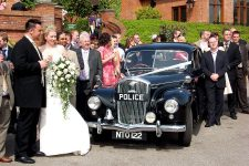 1951 Wolseley 680 Police Essex Wedding Car Stockbrook Manor