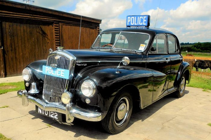 1951 Wolseley Police Car
