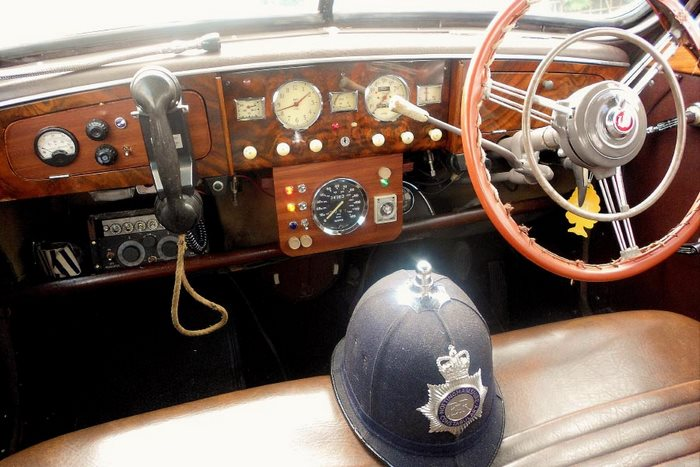 1951 Wolseley Police Car Interior