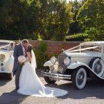 1953 Rolls-Royce Wraith And 1929 Pierce-Arrow Limousine Essex Wedding Cars
