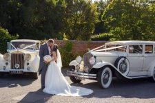 1953 Rolls-Royce Wraith And 1929 Pierce-Arrow Limousine Essex Wedding Cars