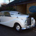 1953 Rolls-Royce Wraith Essex Wedding Car Woodford Chruch