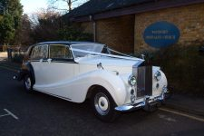 1953 Rolls-Royce Wraith Essex Wedding Car Woodford Chruch