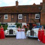 1954 And 1953 Rolls-Royce Wraith Essex Wedding Car Newlands Hall