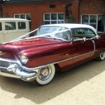 1956 Cadillac Sedan De Ville Essex Wedding Car