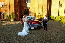 1956 Cadillac Sedan-De-Ville Essex Wedding Car Leez Priory
