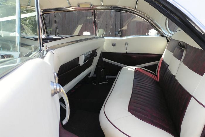 1956 Cadillac Sedan Deville Interior