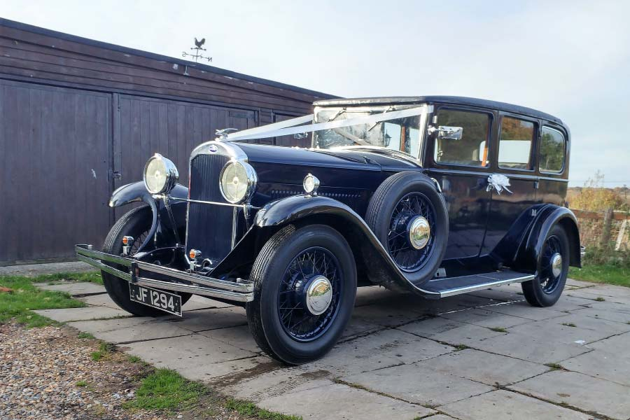 1931 Humber 16/50 Saloon Action Car