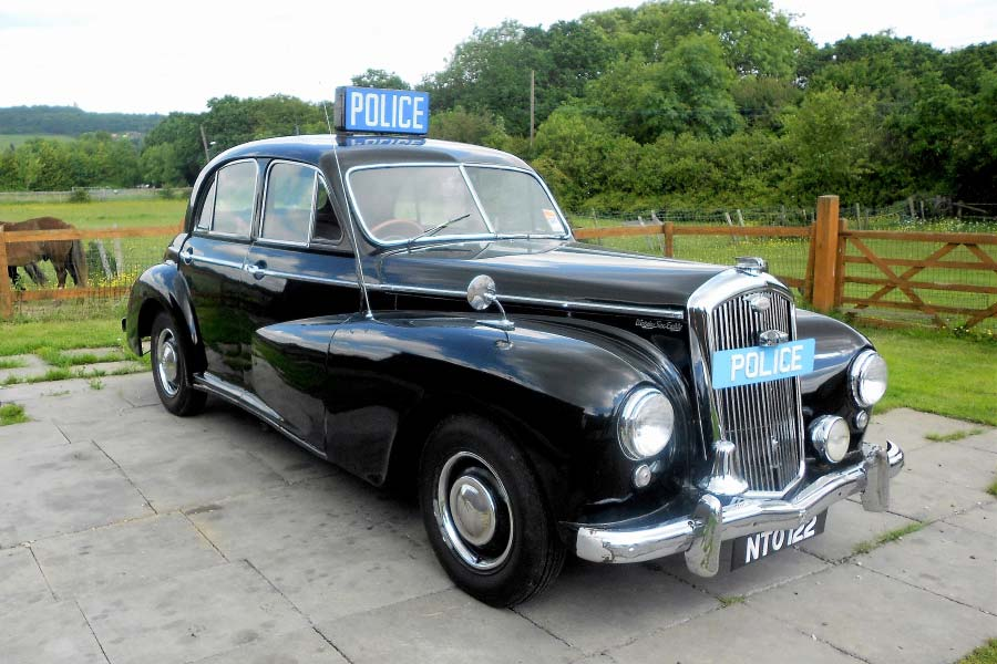 1951 Wolseley 6/80 Police Car Action Vehicle