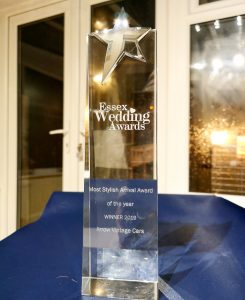 Essex Wedding Award Trophy