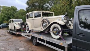 Vintage Cars Essex TOWIE
