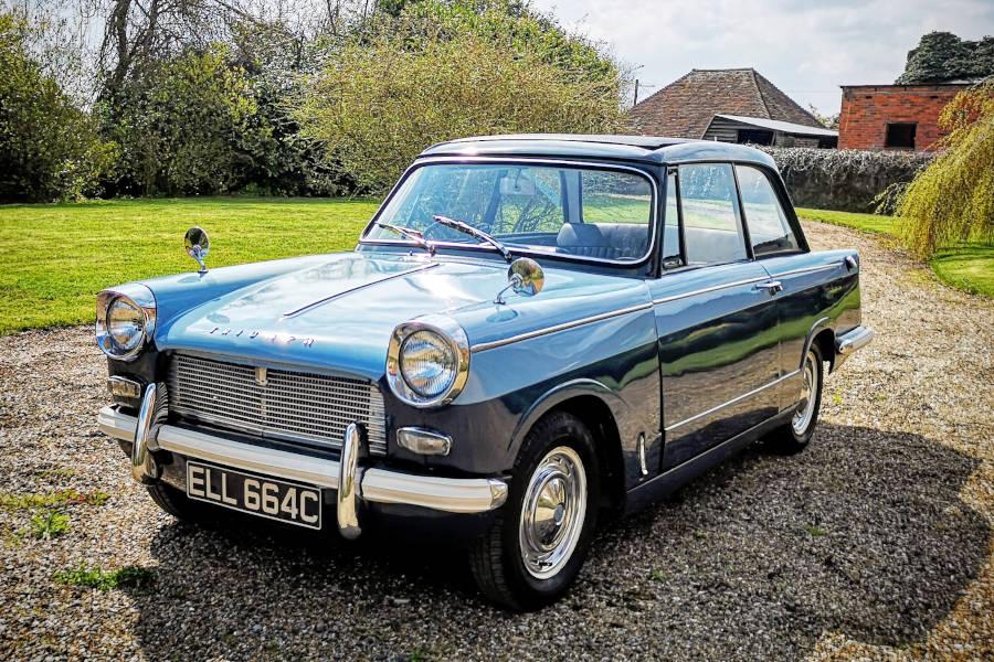 1965 Triumph Herald Wedding Car Essex