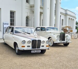 Arrow Vintage Wedding Cars Rolls Royce Hylands House