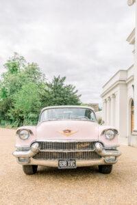 1956 Cadillac Eldorado Biarritz Wedding Car Essex Dita Bowen Photography